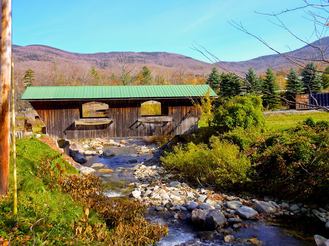 Vermont Puente Cubierto, Smugglers Notch Stables