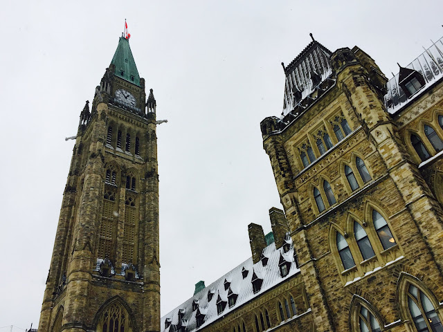 Ottawa's Peace Tower, Parliament Hill