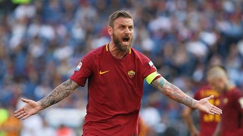 Đội bóng Roma đã gián tiếp khẳng định rằng họ sẽ không cần đến chân sút De Rossi trong mùa giải sau.