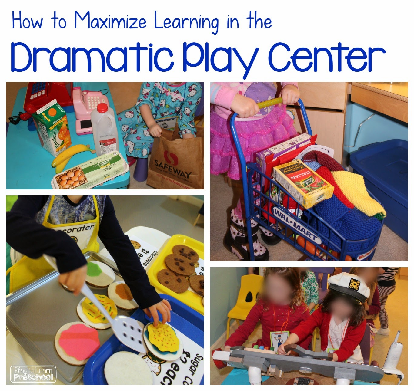 The Primary Pack Learning In The Dramatic Play Center