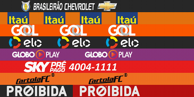 PES 2013 Brasileirão Generic Adboards For GDB by m4rcelo