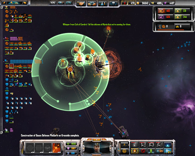 TEC Titan Abilities Screenshot | Sins of a Solar Empire: Rebellion