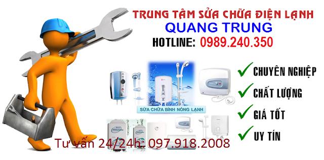 Sửa chữa bình nóng lạnh Inax tại Hà Nội