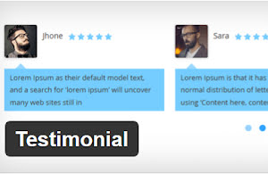 Testimonial plugin for WordPress