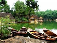 Wisata Kampung Sampireun, Tempat Romantis di Garut