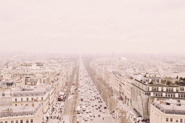 Most Instagrammable Places in Paris - Arc de Triomphe - view of Champs Elysees