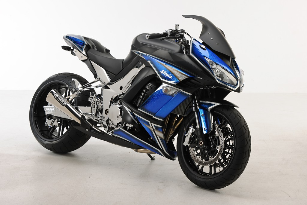 Racing Caf U00e8  Kawasaki Ninja 1000 By Roaring Toyz