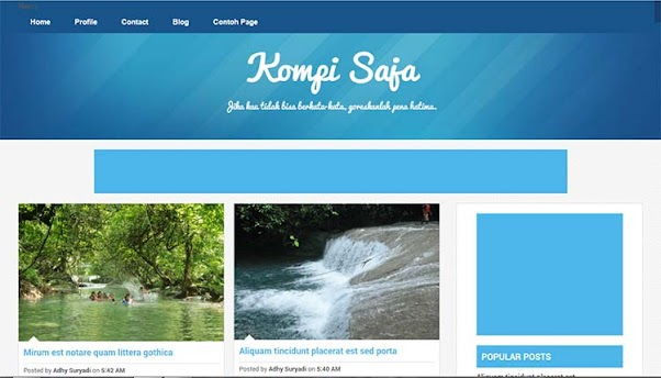 Free Blogger Template - Kompi Saja