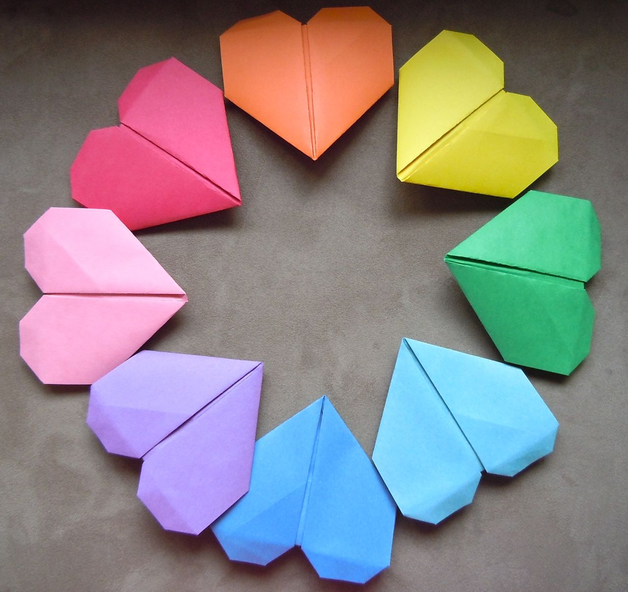 How to Make an Origami Heart: 15 Steps (with Pictures) - wikiHow | 1207x1280