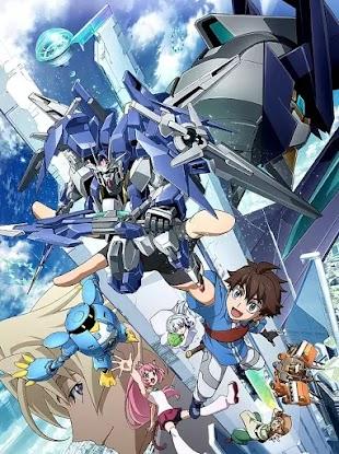 تقرير انمي Gundam Build Divers (غواصين بنية غاندام)