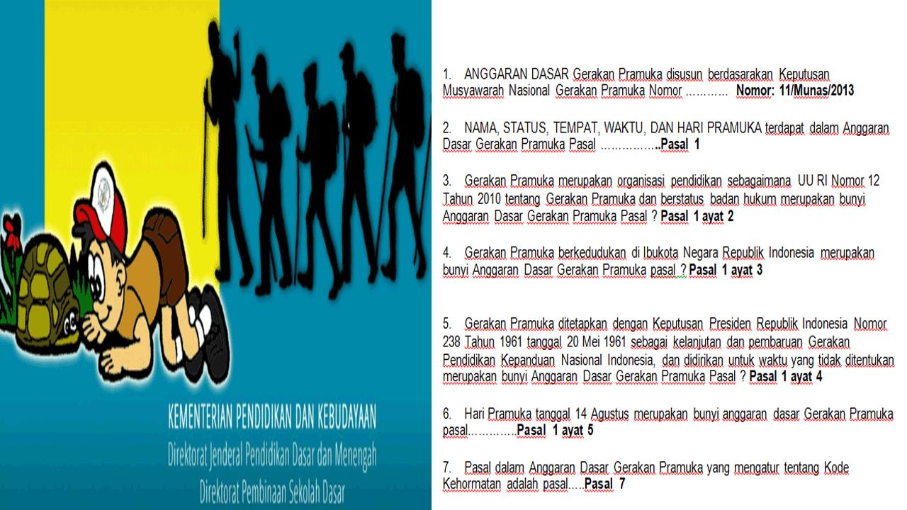 Buku Panduan Ekstrakurikuler Kepramukaan Wajib bagi Sekolah Dasar