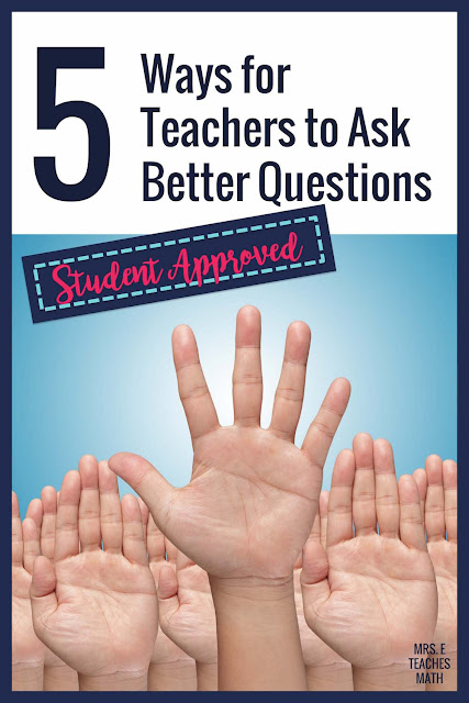 Need help boosting student engagement?  These 5 questioning strategies will help teachers ask more effective questions.