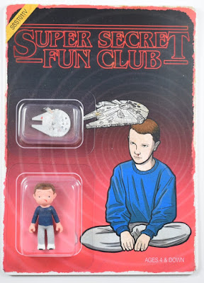 "Stranger Things x Star Wars ""Millennium Falcon"" Variant Eleven Mini Figure by Super Secret Fun Club"