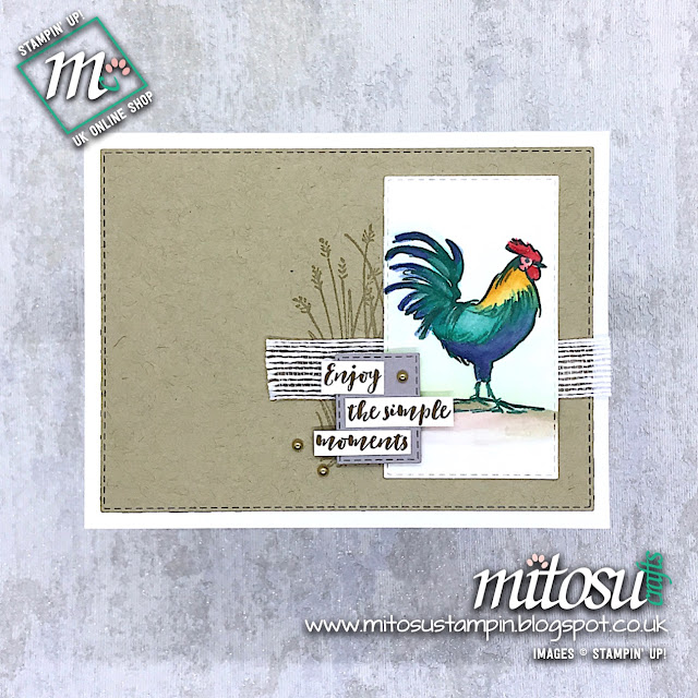 Home To Roost Stampin' Up! Sale-A-Bration. Order cardmaking products from Mitosu Crafts UK Online Shop