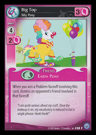 My Little Pony Big Top, Silly Pony Premiere CCG Card