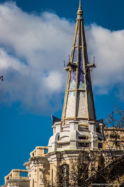 Los tejados de Madrid a vista de Zoom. Calle Alcalá (5), desde la Puerta de Alcalá a Goya
