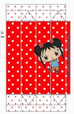 Cajas de Ni Hao Kai Lan,  para imprimir gratis.