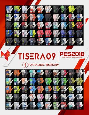 PES 2018 Glovepack v5 by Tisera09