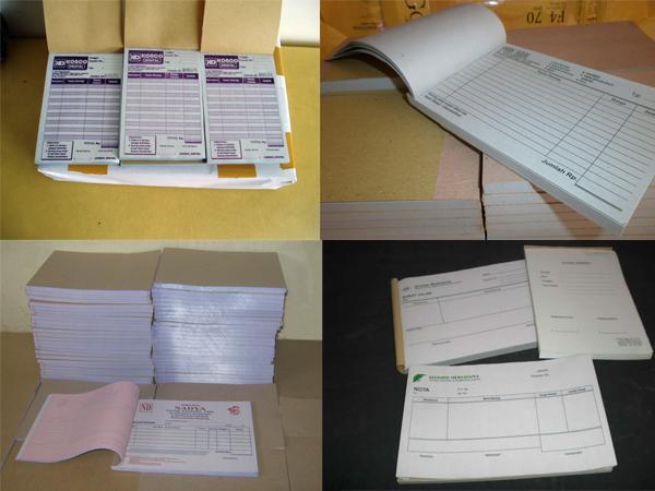 Cetak Nota Kwitansi Murah Cetak Nota Kontan Penjualan Resep Dokter Faktur Invoice Kwitansi Tanda Terima Surat Pesanan Surat Jalan Buku Bon