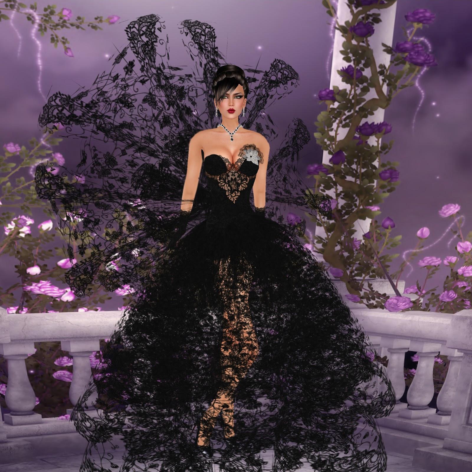 87170f3e9 Jenie and Anjyu s SL Fashion Life  Ananya Black Princess Gown from ...