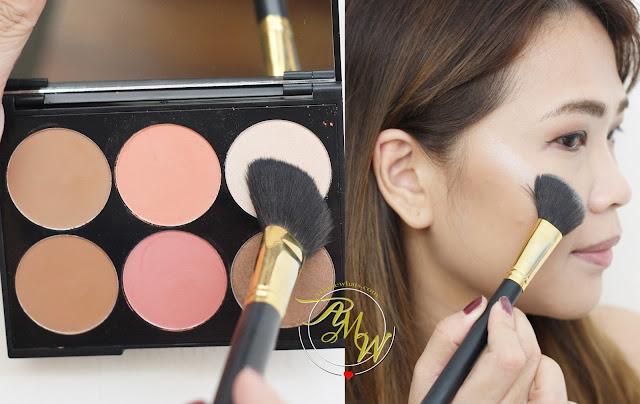 a photo of MakeUp World Complete Contour Palette Review