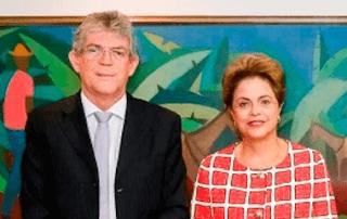 Governador Ricardo Coutinho revela inconformismo com o golpe dado na democracia brasileira