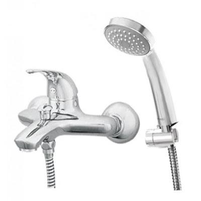 Vòi sen tắm TOTO TS364N/DGH104ZR nóng lạnh, bát sen mạ