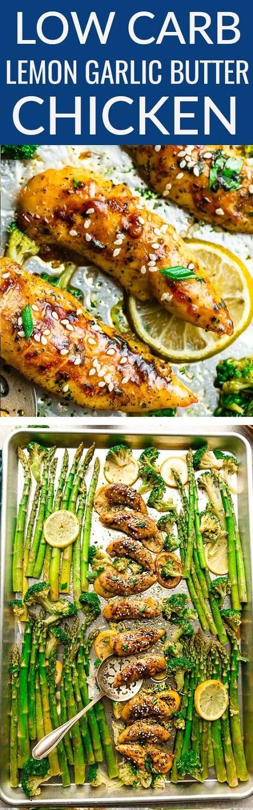 Sheet Pan Lemon Garlic Chicken and Vegetables