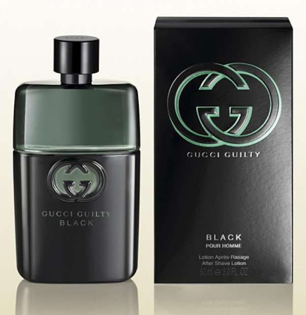 2013 Fragrance Gucci Guilty Black Men And Women Retail Packaging Shopping
