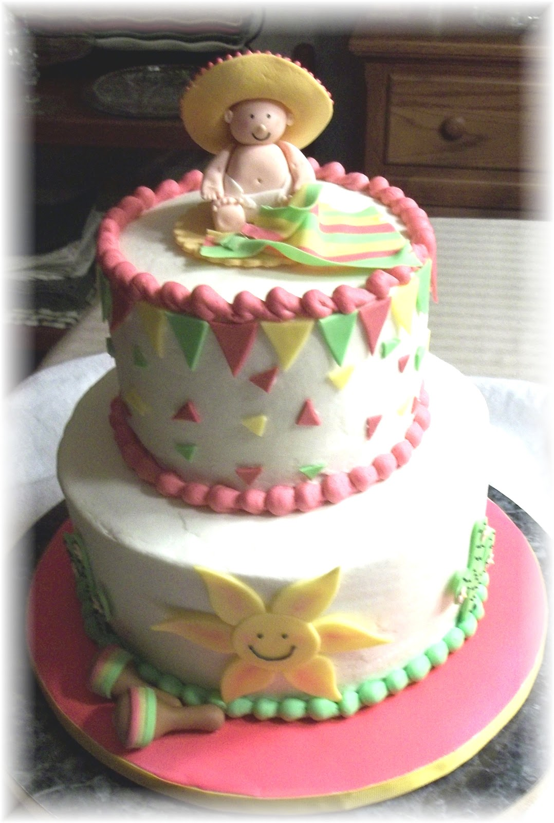 Bobbie S Cakes And Cookies A Baby Fiesta
