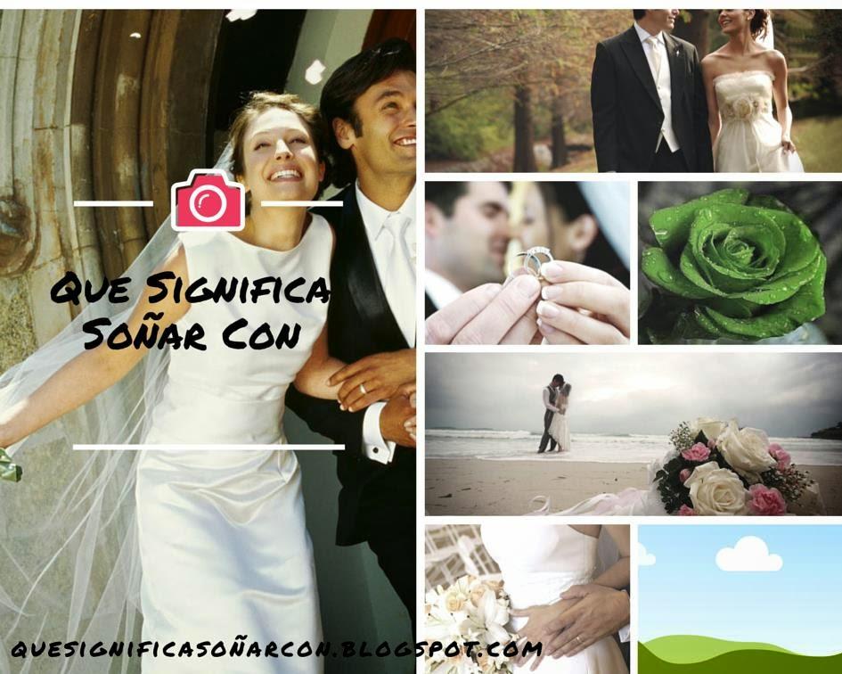 Matrimonio Q Significa : Que significa soÑar me caso soñar con