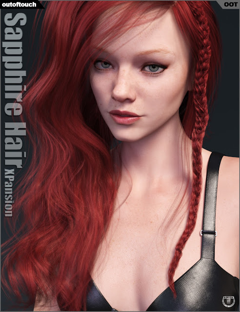 Sapphire Hair Iray Texture XPansion