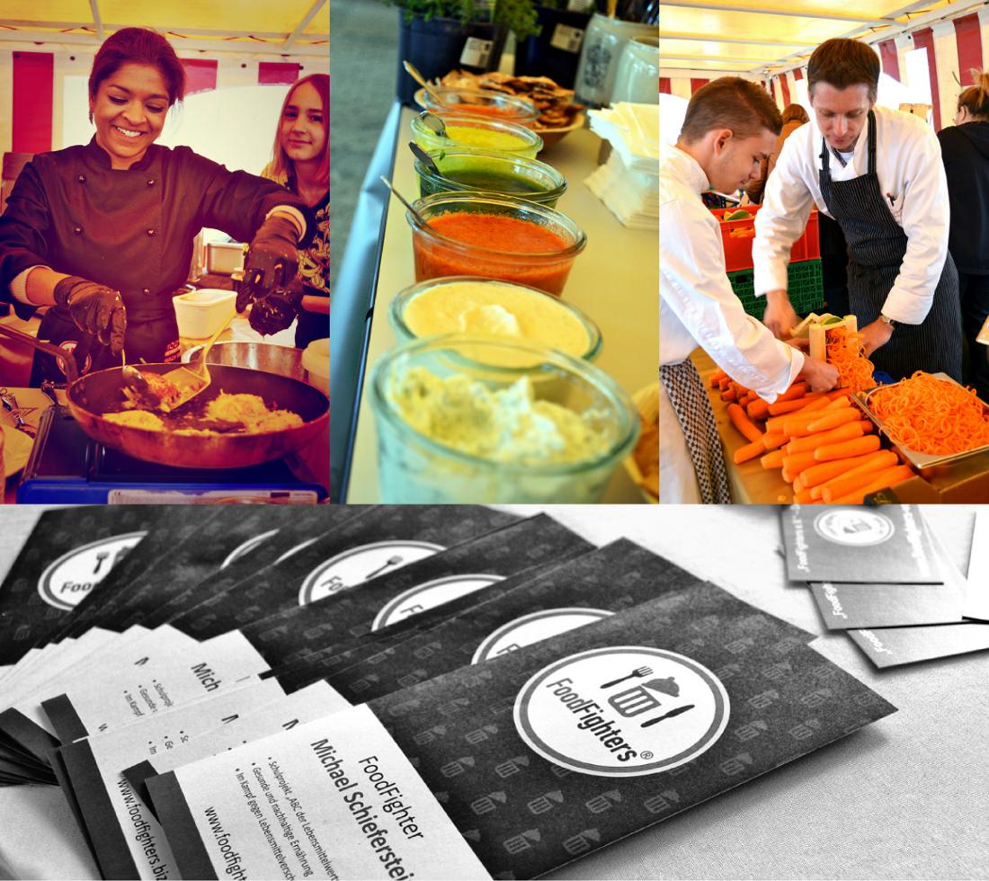 Impressionen von der Open-Air-Kochshow der FoodFighters auf Burg Rheinfels. #FoodFighters #MoToLogie