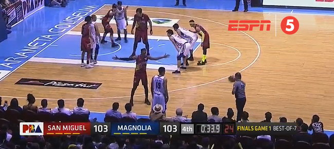 Magnolia def. San Miguel, 105-103 (REPLAY VIDEO) Finals Game 1 / March 23
