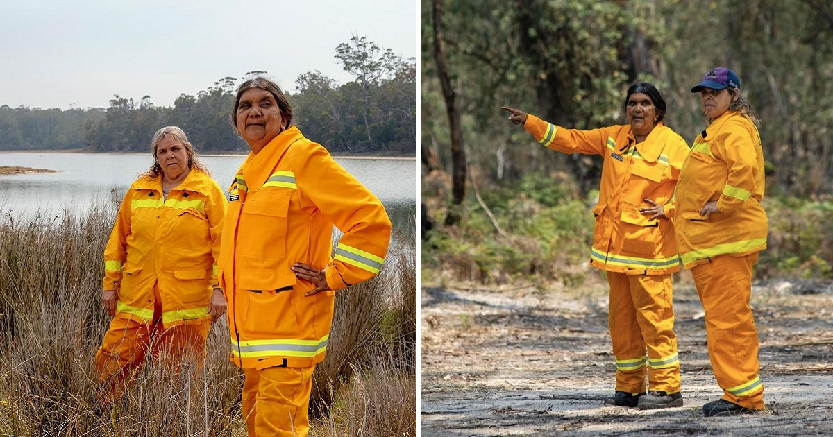 Indigenous Female Fire Brigade In Australia Is Working All Day Long To Protect Their Community