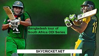 Watch South Africa v Bangladesh ODI Series