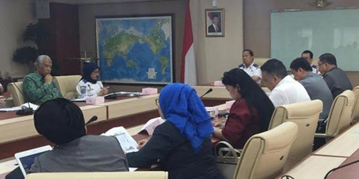 Focus Group Discussion (FGD) dengan tema Perkuatan Mahkamah Pelayaran Menuju Peradilan Maritim.