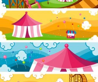 Vectores de circo