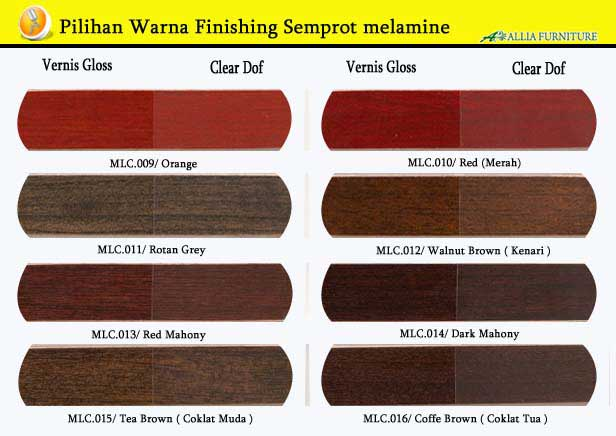 Warna Finishing Semprot melamik 2