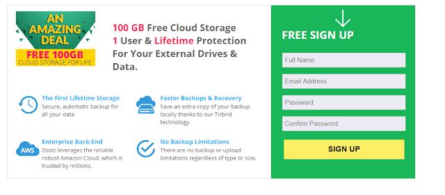 سارع للحصول على مساحة 100GB تخزين سحابي مدى الحياة في هذا العرض السريع