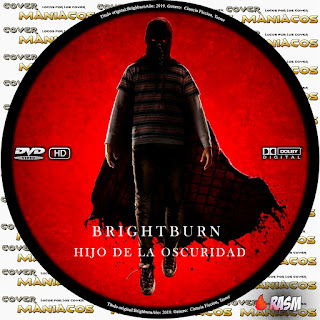 GALLETA BRIGHTBURN HIJO DE LA OSCURIDAD - 2019 [COVER DVD]