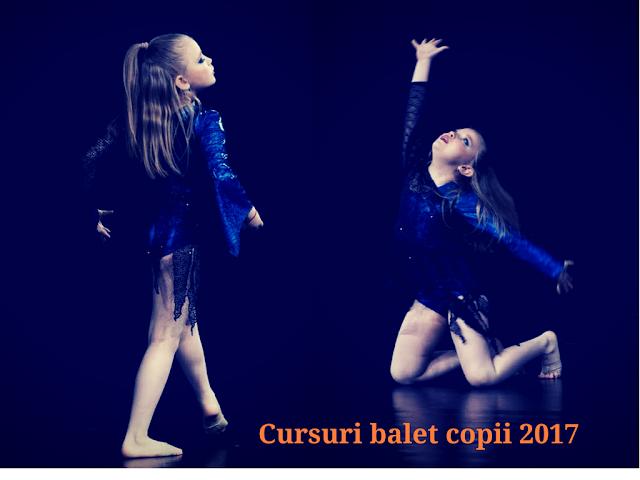 cursuri dans copii 2017