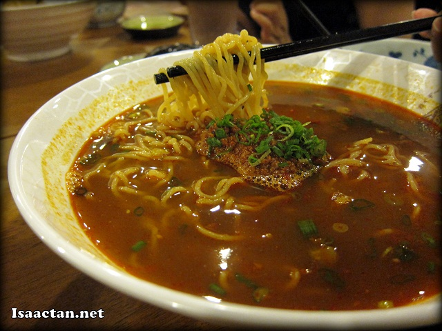 Curry Tan Tan Ramen - RM6.90