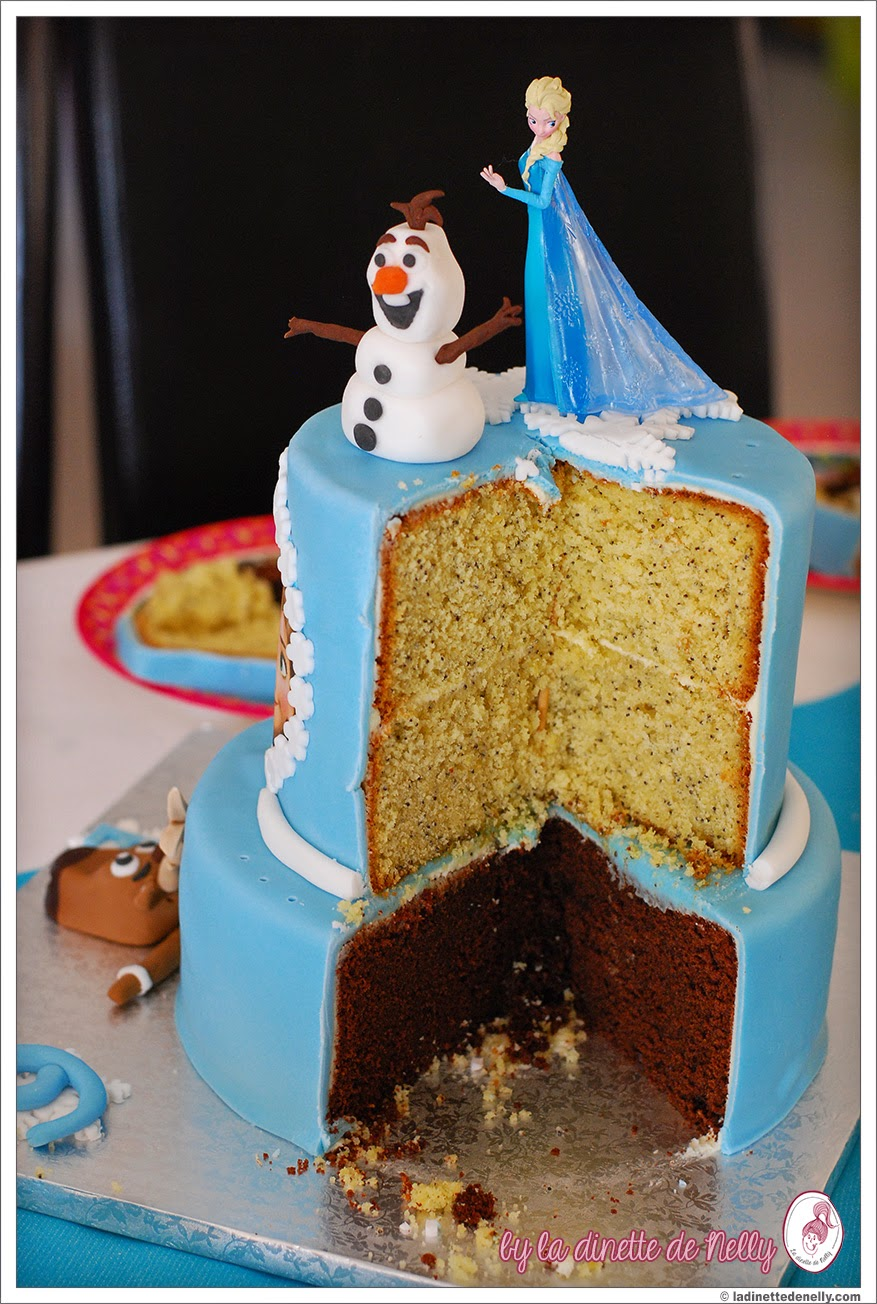 elsa frozen cake myideasbedroom