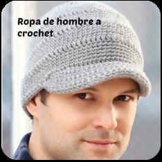 Ropa para hombre a crochet