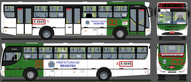 Prefeitura de Registro-SP abre licitação para a concessão do transporte público