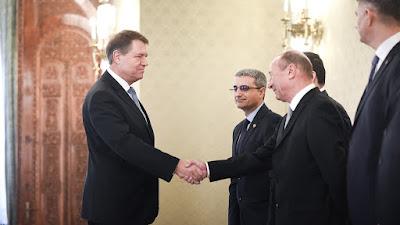 Népi Mozgalom Párt, Traian Băsescu, Eugen Tomac, Románia, kormányalakítás, Klaus Iohannis