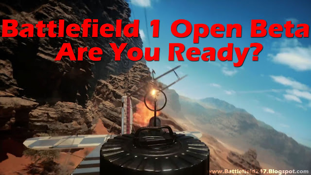Battlefield 1 Open Beta begins on August 31