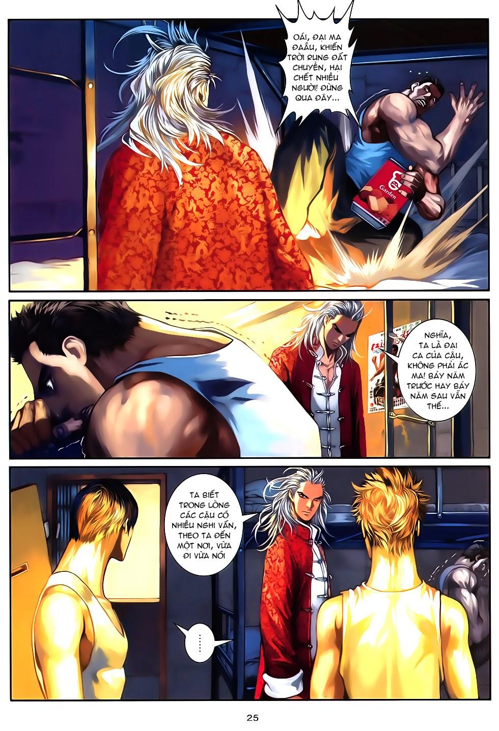 Quyền Đạo chapter 10 trang 24