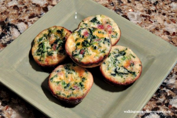 Mini Quiche from Walking on Sunshine.
